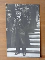 Lenin on the Red Square during the demonstration on 1 May 1919 - postcard