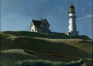 Edward Hopper Lighthouse Hill Giclee Art Paper Print Poster Reproduction