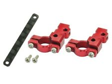 Aluminium DS35 TAIL SERVO MOUNT round (Rouge) - Lame 130X