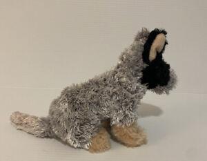 Minkplush Little Bluey Cattle Dog  Soft Stuffed Plush Toy 26cm Grey Brown