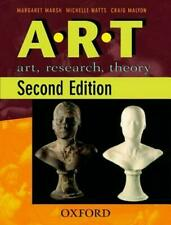 Oxford A.R.T Art, Research, Theory 2nd Edition ART HISTORY Malyon Marsh Watts 1