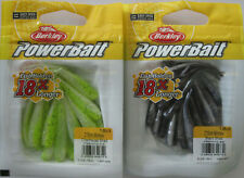 "BERKLEY POWERBAIT Minnow - 18 ct. - 2"" - Chartreuse Shad & Black Shad"