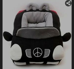 NeW mercedes dog bed black  dog bed luxury dog bed small to medium dog bed