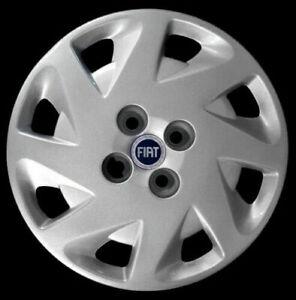 """Fiat Punto 188 Dal 1999 > Kit 4 Borchie Coppe Copricerchi Ruota Cerchio 14"""" 1202"""