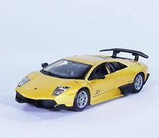 TC27 Lamborghini LP 670-4 MURCIELAGO SV 1:24 1/24 Yellow Diecast Model Model Car