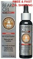 BEARD Oil Fuller Moustache Vitamins & Extracts Citrus Scented Beard THICKENER