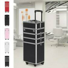 4 In 1 Vanity Makeup Beauty Cosmetic  Case Trolley Box Hairdressing Storage