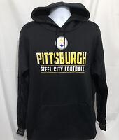 Nike Dri Fit Mens Pittsburgh Steelers Pullover Hoodie Sz XL NWT $75