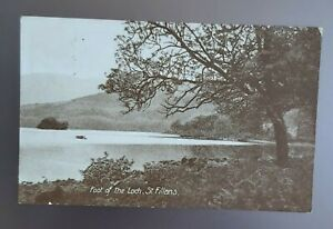 Scotland. St Fillans, Perth&Kinross. Colour postcard.Posted to Rory Watherston.