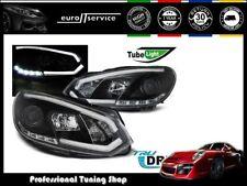 FEUX AVANT PHARES LPVWI5 VW GOLF 6 2008 2009 2010 2011 2012 TUBE LIGHTS TRU DRL