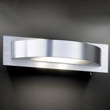 Lámpara de pared acanalado 2x20w Cristal Blanco Satinado Aplique con conector