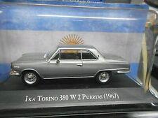 IKA Torino 380 W 2 Puertas silber 1967 V8  Argentina Atlas IXO Altaya SP 1:43