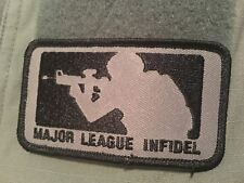 SEALS Action Gear, Major League Infidel,  Urban/Tactical Subdued Patch