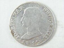 Moneda 4 Reales 1812 Jose Napoleon - Sevilla L.A. | Spanish Coins