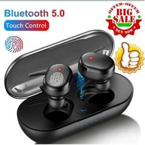 Wireless Bluetooth 5.0 Earphones Headphones Mini Earbuds Waterproof Headsets