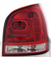 LED Rückleuchten für VW Polo 9N3 (05-09) in dunkelrot/klar