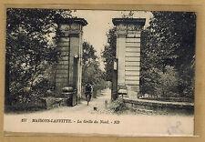 Cpa Maisons Laffitte - la grille du Nord wn1061
