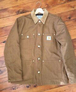 Carhartt WIP Blanket Lined Michigan Chore Coat Mens Medium