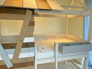 Life Time - Hochbett - abenteuerliche Baumhütte - L 207 x H 230 x T 102