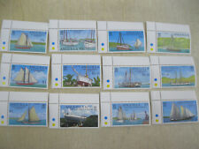 Anguilla ship complete set of 12 stamps  I201804