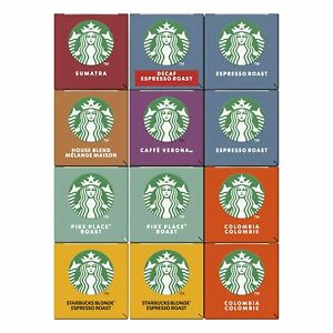 Kaffeekapseln Starbucks Probierset Nespresso 8 Varianten 120 Stk Bundle MHD 6/21