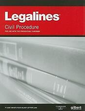 Legalines: Civil Procedure--Adaptable to Ninth Edition of the Friedenthal Casebo
