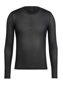 Rapha PRO TEAM Long Sleeve Base Layer Black BNWT Size L