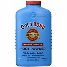 GOLD BOND MEDICATED MAXIMUM STRENGTH FOOT POWDER 10oz