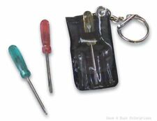 180 Total 3-pc tool keychain screwdriver set ( wholesale clearanace lot )