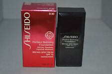 Shiseido Perfect Refining Foundation All Day Flawless D30 1 oz New Boxed