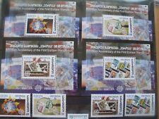 Briefmarken Georgien 50J Europamarken BL35-38 und Mi 507-510
