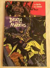 DC Comics - BATMAN: DEATH AND THE MAIDENS TPB - Greg Rucka & Klaus Janson SIGNED