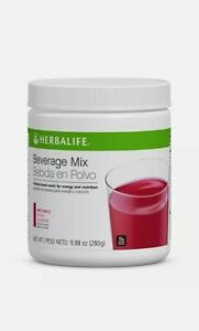 Herbalife Beverage Drink Mix - Wild Berry for energy burst Net wt 9.88 OZ (280g)