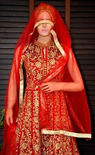 Bollywood Anarkali, Indian/Pakistani Lengha, Suit, Salwar Kameez, Asian Wedding.