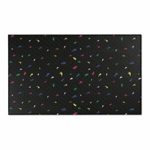 Retro Realistic Mid 90s Arcade and Home Theater Style Area Rug