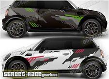 Mini Rally 010 motorsport racing graphics stickers decals vinyl