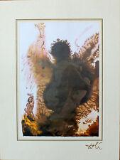 Salvador Dali Lithograph Biblia Sacra Abraham Abraham 1985
