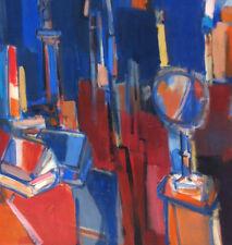 Jean Cornu (1915-2009).hst cubiste (ami de Mouly)