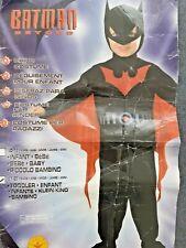 Toddler's Boys Batman Beyond Comic Book Fancy Dress Costume