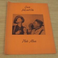 """VTG 1950's 'Early COUNTRY MUSIC Performers' """"COUSIN JODY and ODIE"""" Photo Album~"""