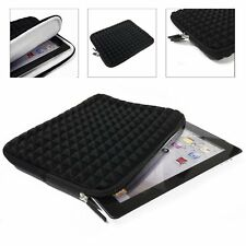 Black EVA Foam Padded Tablet Carrying Sleeve Pouch for Apple iPad 2, 3, 4