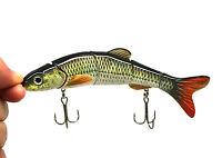 "Multi-jointed Fishing Lure Crank Bait Swimbait Bass Shad Dace 6-1/4""&1.2oz NEW"