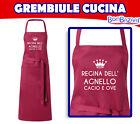 Grembiule da cucina REGINA DELL'AGNELLO CACIO E OVA - piatti tipico d'abruzzo