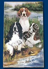 Playing cards: English and Welsh Springer Spaniel Dog Playing Cards Designed by