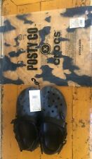 Post Malone x Crocs Duet Max Clog Men's Size 9, Women's Size 11 Limited Edition