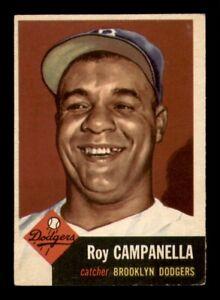 1953 Topps Set Break #27 Roy Campanella EX *OBGcards*