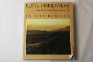 A3/ älteres Buch - Kunsthandwerk in Thüringen - Anne & Jochen Wiesigel - 1989