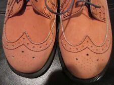 Dr. Martens 3989/59 Brogue Wingtip Shoes Size 4UK 5US Flesh Color Nubuck
