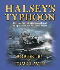 Halsey's Typhoon by Bob Drury & Tom Clavin (AUDIO, CD, Unabridged)  ^ NEW ^