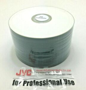 CD-R 80 JVC Taiyo Yuden Shiny White Prism Non Printable Made in Japan 50pcs
